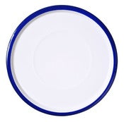 Image of Large Plate cobalt blue