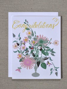 Image of Congratulations Bouquet Note Card
