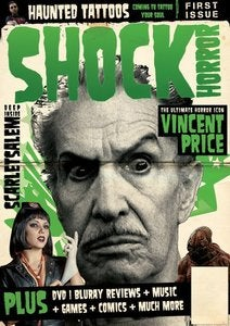 Image of Shock Horror Magazine Issue 1