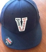 Image of Vanderbilt Official On Field USA Fitted Hat 7 1/8 Grey bottom
