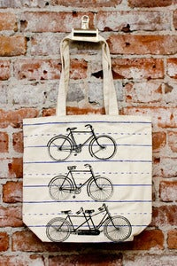 Image of Bike Tote Bag