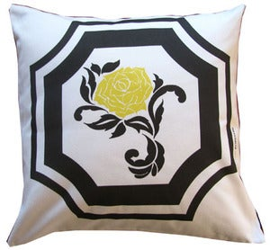 Image of Vintage Rose Pillow