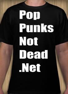 Image of Pop Punk's Not Dead T-shirt Large