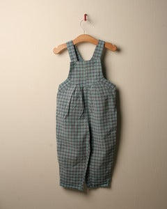Image of SALE c. 1980s checked dungarees