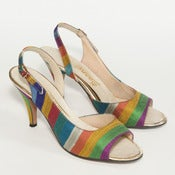 Image of RAINBOW SLING-BACKS // 7