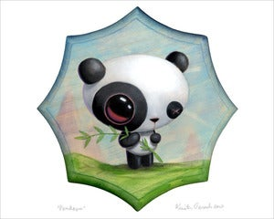 Image of &quot;Pandasm&quot; giclee print