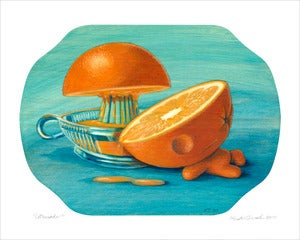 Image of &quot;Citruside&quot; giclee print