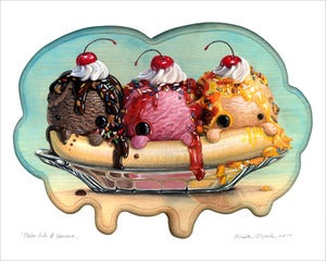 Image of &quot;Make Like a Banana...&quot; giclee print