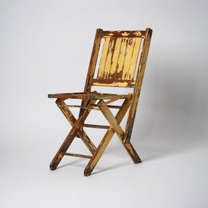 Image of Painted Folding Chair