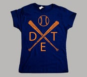 Image of Women's Detroit Baseball T-Shirt