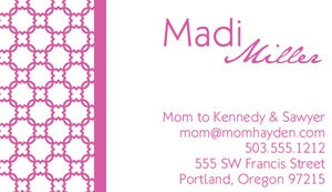 Image of Madi Calling Card