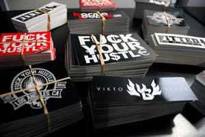 Image of FUCK YOUR HUSTLE STICKER PACK