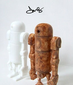 Image of One off Custom ThreeA Toys Mini Bertie. Sold.