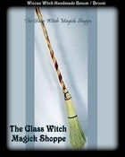 Image of Witches Hand Crafted Witch's Besom / Broom (CT)