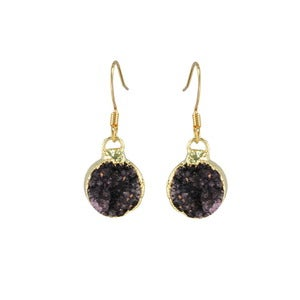 Image of Jamie Earrings-Navy