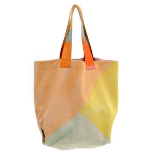 Image of Canvas Beach Bag