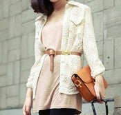Image of Lace botton up Shirt
