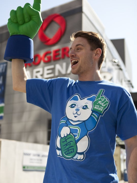 Image of LUCK FOR NUCKS TEE