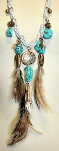 Image of LONG - Navajo Landing Necklace