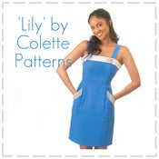 Image of 'Lily' - Sundress pattern by Colette Patterns