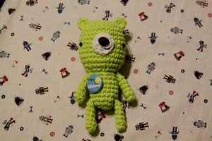 Image of Lime Green Bear