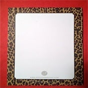 Image of Leopard Print Notepad