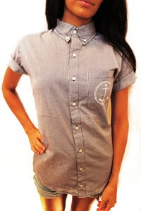 Image of Unisex Anchor Button Down Shirt