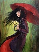 "Image of ""Red Umbrella"" Limited Edition Print"