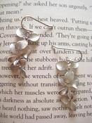 Image of Silver Plated Triple Orchid Earings