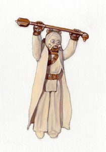 "Image of ""Tusken Raider"" Original Painting by Allan Innman"