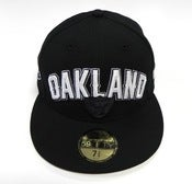 "Image of OAKLAND RAIDERS ""DRAFT"" NEW ERA FITTED"