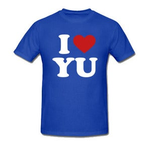 Image of I Love Yu Darvish (Blue)