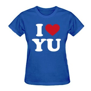 Image of *Women's Fit* I Love Yu Darvish (Blue)