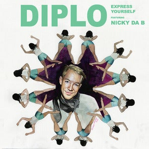 "Image of Diplo ""Express Yourself/Move Around"" 7"""