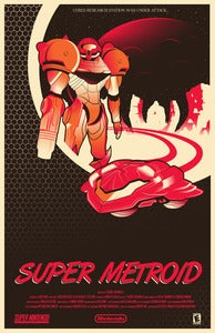 Image of Super Metroid: English