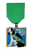 Image of Fiesta 2012 Dog Medal