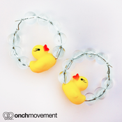 Image of Rubber Ducky Earrings