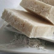 Image of Coconut Craze Olive Oil Soap Bar (Vegan) (Palm Free)