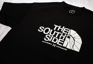 Image of The South Side Tee (Black/White)