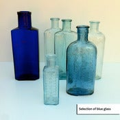 Image of Vintage Bottles BLUE :: FOR HIRE