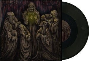 "Image of GRIEVED ""Samaritans"" one sided 12 "" black LTD 150"