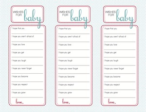 Image of Wishes For Baby Red & Turquoise pdf