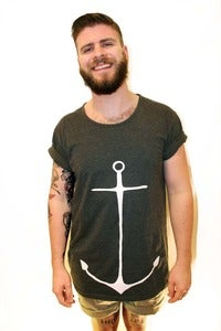 Image of Unisex Anchor Me Wide Neck Tee