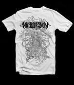 Image of Among the Plague T-Shirt - WHITE *Pre-order now*