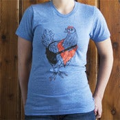 Image of Unisex Hipster Chicken Tee