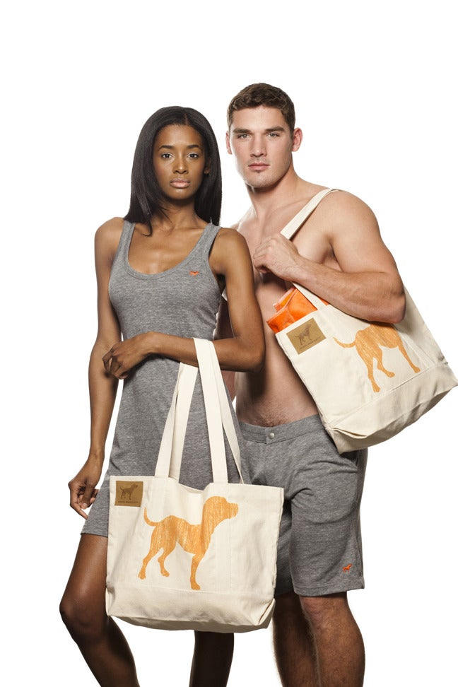 Image of UNISEX TINY TIM SIGNATURE ORGANIC COTTON TOTE