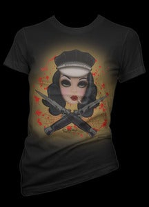 Image of SwitchBlade Doll Tee