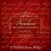 Image of Galatians 5:1 Freedom