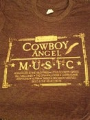 Image of Cowboy Angel Music T-shirt