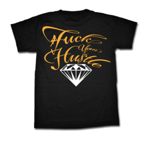 Image of Diamond Tee - Gold/White